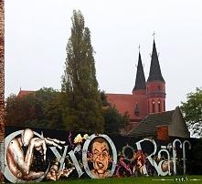 Wrocław - cyrograf - graffiti z humorem