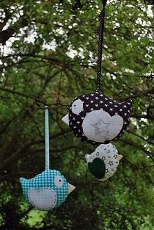 Ptaki dla dzieci i dekoracji domu