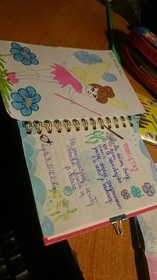 Wpis do pamiętnika dla małej Michalinki