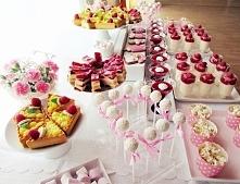 Słodki stół z okazji Chrztu