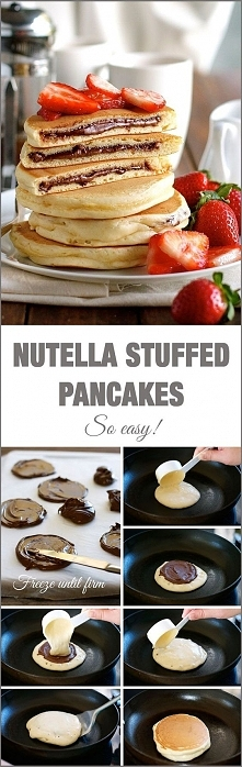 NUTELLA/PANCAKES