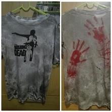 co sądzicie? :) moja własna praca na zwykłej, białej koszulce ;)