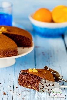 Bezglutenowe ciasto orzechowo-pomarańczowe