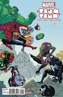 Marvel Tsum Tsum. :3 Komiks trafi do sprzedaży 3 sierpnia 2016 r.