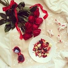 Dostać takie róże, czemu ni...