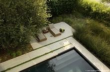 Nowoczesny ogród, nowoczesny design zewnętrza domu, ogród za domem - zobacz i...