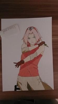 Sakura  :3 mam słabe światło w pokoju więc kolory są trochę wyblakłe ale w rzeczywistości lepiej to wygląda
