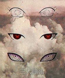 Byakugan Sharingan Rinnegan