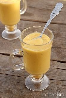 Koktajl mango - banan   Składniki:      Dojrzałe (miękkie) mango - 1/2 sztuki...