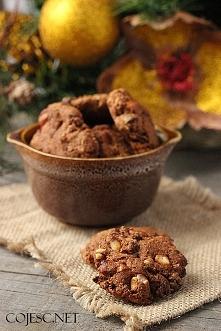 Świąteczne ciasteczka bakaliowe  Składniki na ok. 20 sztuk:      Mąka pełnozi...