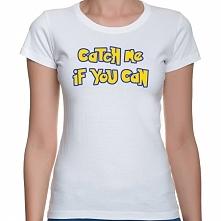Koszulka Pokemon - Catch me if you can - damska, męska, dziecięca