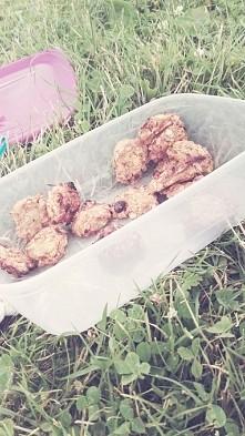 znów były ciastka tym razem na pikniku z przyjacielem :-) 24kcal na jedno, je...