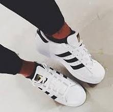 white adidas <3