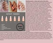 Kształt paznokci - Zobacz jaki wybrać dla siebie!!!