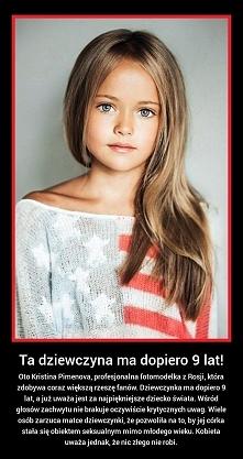 Ta dziewczynka ma dopiero 9 lat!!!