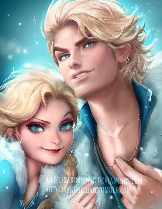 Elsa i Elsa male.