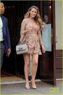 Blake Lively :) nude dress...