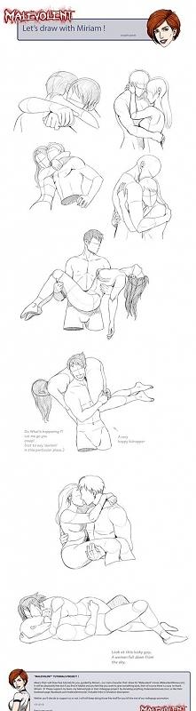 rysunki/ jak narysować kochanków