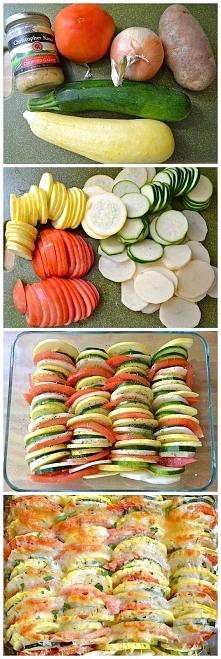 zapiekanka, warzywa,jak to ...
