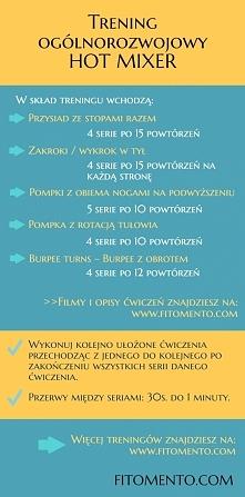 Trening ogólnorozwojowy  Więcej treningów na FITOMENTO.COM :-)