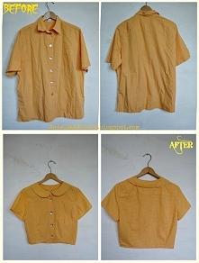Jak zmniejszyć  i przerobić koszulę męską