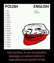 Bardzo ciekawe teraz nikt już nie powie że język polski nie jest jednym najtr...