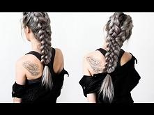 Warrior Braids - Hair Tutorial