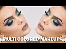 Multi Colored Makeup | Lind...