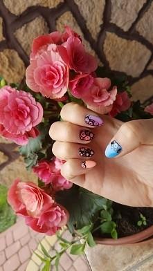 #nails#artist ręcznie malowane!