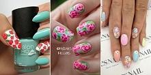 Paznokcie w kwiatki – idealny manicure na lato