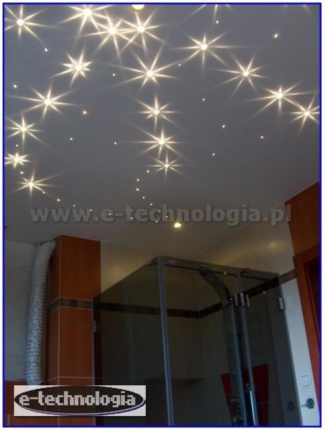 łazienki, projekt łazienki, modna łazienka, piękna łazienka, oświetlenie światłowodowe, kryształowy pył, aranżacja łazienek, topowe łazienki, wnętrze pięknej łazienki, nowe łazienki, oświetlenie do łazienki  e-technologia.pl  tel: 668 487 285