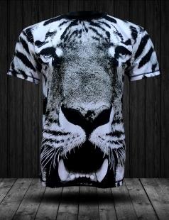 Koszulka z pełnym nadrukiem od firmy fullprintwear z motywem biało-czarnego tygrysa. Idealna do noszenia na co dzień, na rower, na wycieczkę za miasto, na imprezę na co tylko chcesz. W każdej sytuacji będziesz czuć się w niej znakomicie i będziesz przyciągać wzrok wyjątkowym ubiorem.  Czarno-biały tygrys wystraszy każdego. Jednak nowy właściciel będzie z niej dumny. W końcu tygrys jest nie tylko impulsywny i nieprzewidywalny, ale hojny oraz uczuciowy.  Nadruk taki sam z przodu jak i z tyłu. Koszulka stworzona zarówno dla mężczyzn jak i kobiet w 100% z włókna poliestrowego, a sprzedaję ją w 4 rozmiarach: S,M,L oraz XL. Produkt posiada oryginalne metki, etykiety oraz opakowanie. Cena 89 zł. ZAPRASZAM!