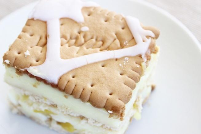 Budyniowiec czyli najprostsze ciasto bez pieczenia! Zapraszam majorka94.blogspot.com
