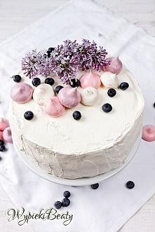Tort kajmakowo-gruszkowy - Wypieki Beaty