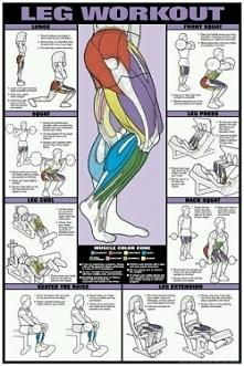 ćwiczenia na nogi :)