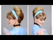 Easy Cinderella Updo for Ha...