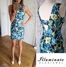Sukienka w neonowe kwiaty Illuminate <3 <3 <3