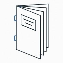 Najwyższej jakości broszury szyte.