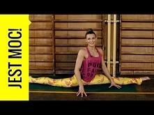Ćwicz z Kasią Bigos - jak zrobić szpagat? Ćwiczenia rozciągające do szpagatu