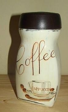 Słoik po kawie