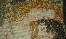 Klimt - Macierzyństwo - Haft krzyżykowy