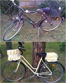 Metamorfoza roweru w stylu retro!