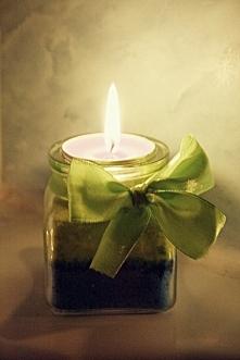 Ważkowa : Diy świeczniki