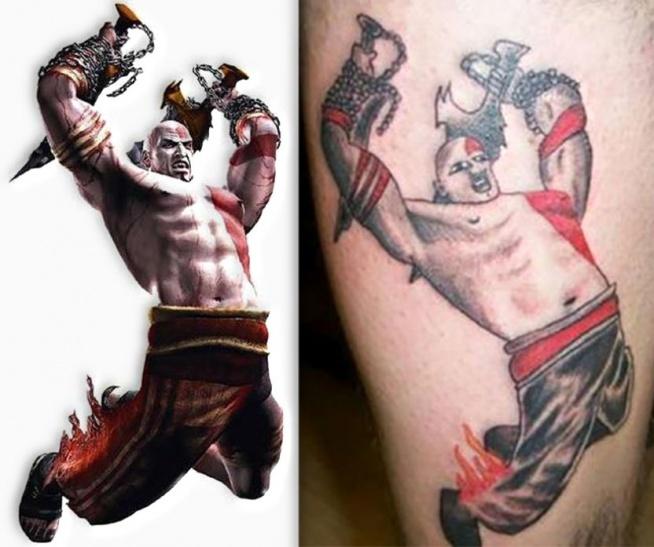 Projekt Tatuażu I Wynik Tej Pracy Na Ciekawe Tatuaże