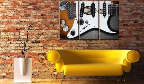Obraz - Guitar Hero   bogatewnetrza.pl