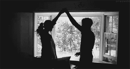 #couple #cute #blackandwhite