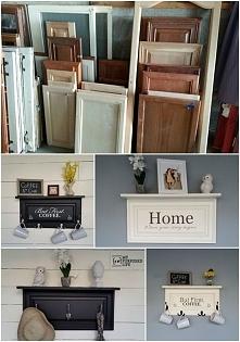 świetny pomysł. W ikea jest kącik okazji z takimi frontami szafek np. do kuchni.