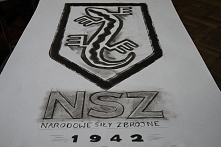 NSZ plakat na specjalne zamówienie grupy GRH Dragoner ;)