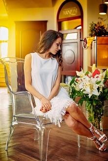 sukienka z frędzlami - krak...