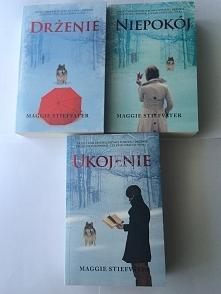 """Mam do sprzedania trylogię """"Drżenie"""", książeczki raz przeczytane, stan idealny, jak nowe ;)"""